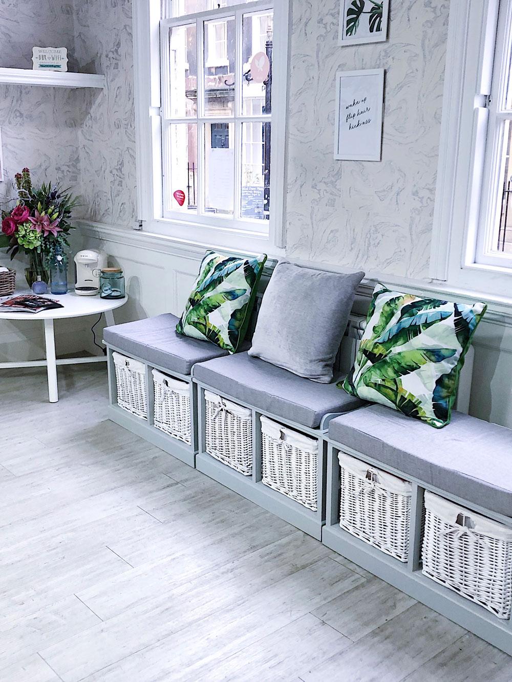 Salon cushions